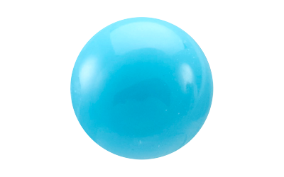 Turquoise - Rond